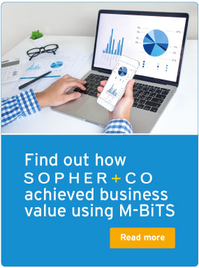 Find out how Sopher+CO achieved business value using M-BiTS